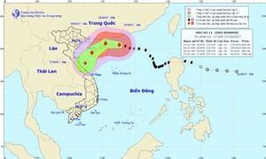Nhiều nơi có mưa do ảnh hưởng bão số 11