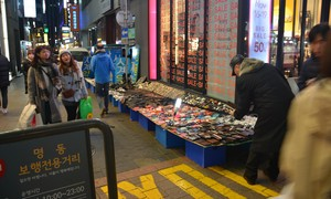Xem Seoul quy hoạch vỉa hè