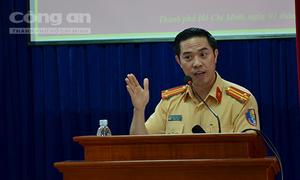 Trưởng Phòng CSGT TPHCM nói về chuyện ứng xử với người vi phạm