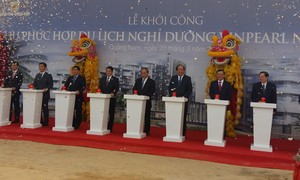 Thủ tướng bấm nút khởi công dự án 5000 tỷ đồng của Tập đoàn Vingroup
