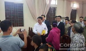 Chủ tịch Nguyễn Đức Chung: 'Tôi đã về đây, bà con cứ bình tĩnh'