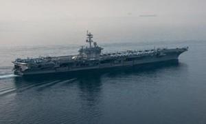 Triều Tiên tuyên bố sẵn sàng tấn công phủ đầu tàu sân bay Mỹ