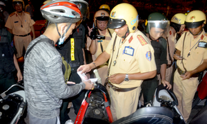 CSGT TP.HCM quyết tâm dẹp nạn đua xe trái phép