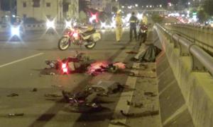Chạy ngược chiều tông ô tô, nam thanh niên thiệt mạng