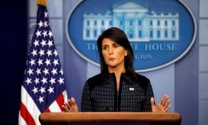Mỹ nhấn mạnh lựa chọn quân sự với Triều Tiên