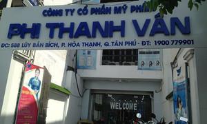 Niêm phong hơn nửa tấn nguyên liệu mỹ phẩm của công ty Phi Thanh Vân