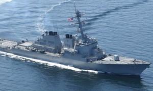 Mỹ 'không bỏ qua' hành vi của tàu chiến Trung Quốc trên Biển Đông