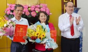 Chủ tịch Liên đoàn Lao động TPHCM làm Bí thư Quận ủy quận 1