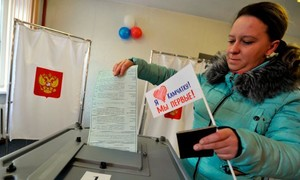 Hôm nay người dân Nga bỏ phiếu bầu tổng thống