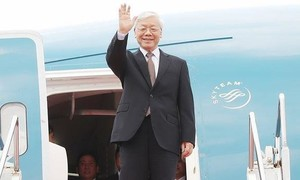 Tổng Bí thư Nguyễn Phú Trọng thăm chính thức Cộng hòa Pháp
