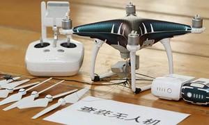 Dùng flycam vận chuyển lậu điện thoại