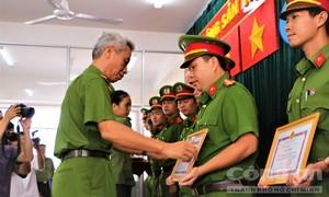 Khen thưởng Công an Q.Tân Phú vì liên tiếp phá án lớn
