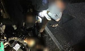 Tai nạn thảm khốc, 4 học sinh tử vong