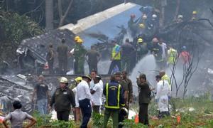 Cận cảnh hiện trường rơi máy bay ở Cuba khiến hơn 100 người thiệt mạng