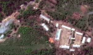 Nhiều nhà báo chứng kiến Triều Tiên phá huỷ bãi thử hạt nhân