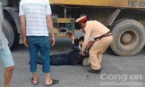 Chiến sỹ Cảnh sát PCCC gặp nạn trên đường đi dập lửa về