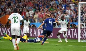 Nhật Bản hòa Senegal 2-2, cùng tạo lợi thế trước lượt đấu cuối