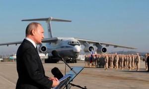 Nga không kích IS quy mô lớn, đáp trả vụ đánh bom kép ở Syria