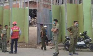 Hai công nhân rơi từ công trình Saigon Homes xuống tử vong