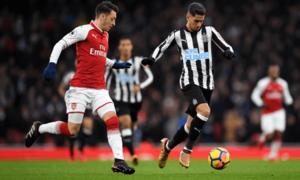 Arsenal có nguy cơ mất 4 trụ cột trước trận chiến với Newcastle