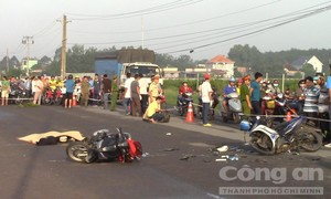 Trợ lý trọng tài V.League bị tai nạn tử vong trên đường về nhà