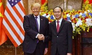 Tổng thống Mỹ chia buồn sau khi Chủ tịch nước Trần Đại Quang từ trần