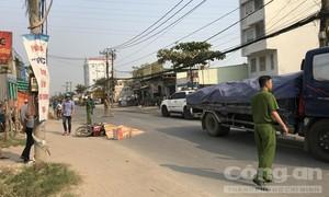 """Xe container lại cán chết người trên đường """"tử thần"""" ở Sài Gòn"""