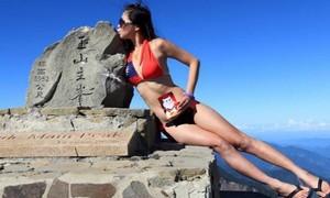 Cô gái nổi tiếng mặc bikini trên đỉnh núi, tử vong do chết cóng