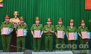 Công an TPHCM: Khen thưởng các đơn vị xuất sắc trong phòng, chống tội phạm