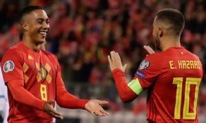 """""""Hủy diệt"""" San Marino 9-0, Bỉ giành vé đầu tiên dự Euro 2020"""