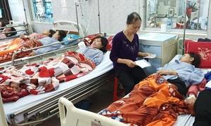 Nghi ngộ độc khí, 20 công nhân phải nhập viện