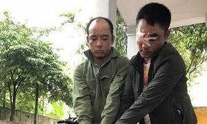 Gần 10 đêm phục kích bắt 2 tên cẩu tặc