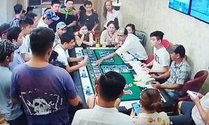 Công an Cần Thơ thông tin vụ phá sòng bạc trong khách sạn 4 sao