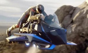 Cận cảnh siêu môtô bay Jetpack Aviation Speeder giá 8,8 tỷ đồng