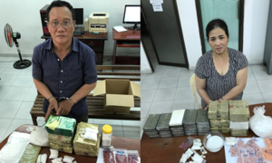 Đường dây buôn gần 100kg ma túy liên quan đến chị gái Dung Hà