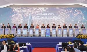 Thủ tướng dự lễ động thổ dự án thành phố thông minh hơn 4 tỷ USD
