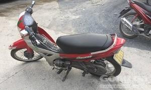Bắt tại trận con nghiện trộm xe máy