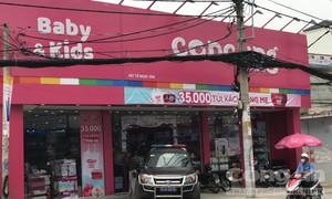 Trộm vào cửa hàng Con Cưng ở Sài Gòn phá két sắt
