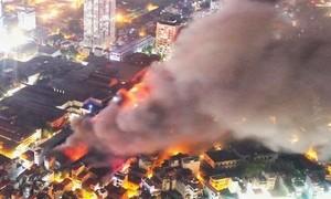 Đa số các vụ cháy lớn đều báo muộn cho Cảnh sát PCCC