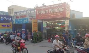 Điều tra vụ nghi nổ súng cướp tiệm vàng ở Sài Gòn