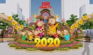 Đường hoa Nguyễn Huệ 2020 có gì đặc biệt?