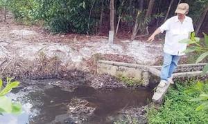 Phạt gần nửa tỷ đồng nhà máy tinh bột sắn xả thải gây ô nhiễm
