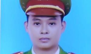 Thăng hàm từ Trung úy lên Thượng úy cho Cảnh sát hình sự hy sinh