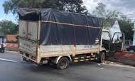Hơn 20 km truy đuổi, khống chế tên trộm xe tải
