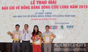 Trao giải báo chí về Đồng bằng sông Cửu Long năm 2019
