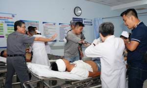 TPHCM: Diễn tập trấn áp giang hồ truy sát trong bệnh viện