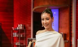 Hà Kiều Anh đẹp nổi bật trong sắc trắng