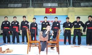 Tổ chức ngày hội võ thuật ngành An ninh