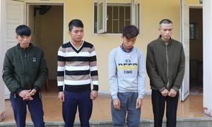 Nhóm đối tượng gây ra 23 vụ trộm xe máy sa lưới