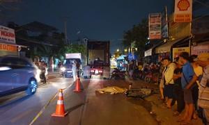 Xe đầu kéo cán tử vong nhân viên nhà hàng ở Sài Gòn